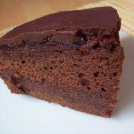 Čokoládový dort s polevou recept