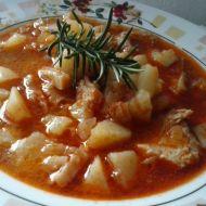 Dršťková polévka s rozmarýnem recept