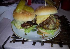 Pikantní burger