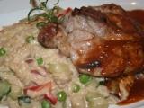 Kuřecí kari steak s italským risottem recept