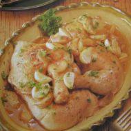 Španělské kuře s česnekem recept