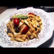 Pasta Crema s krevetami recept