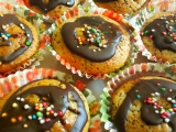 Jogurtove muffiny s kokosem a cokoladou recept