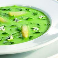 Špenátová polévka se smetanou recept