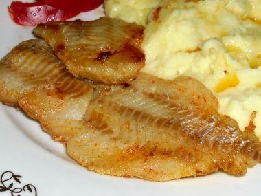Aljašská treska na másle