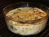 Zapečené brambory a brokolice s čedarem recept