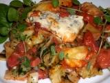 Zapečené špenátové těstoviny s rajčaty a sýrem recept ...