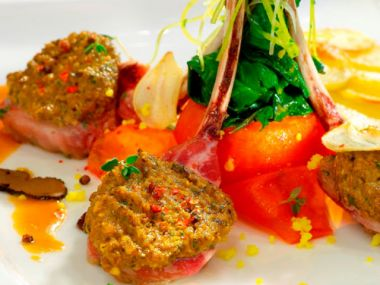 Recept jehněčí medailonky v zelenině