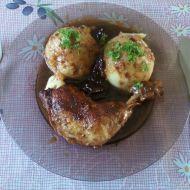 Kuře na švestkách a víně recept