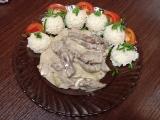 Roštěná stroganoff recept