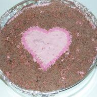 Tvarohový nepečený dort recept