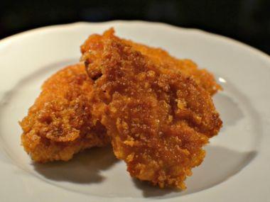 Kuřecí řízečky obalené v cornflakes