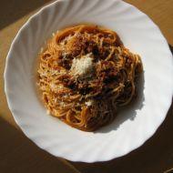 Rychlé špagety s mletým masem recept