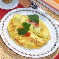Plněné omelety recept