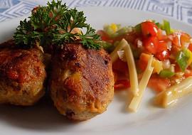 Šišky z mletého masa s dunajskou klobásou a korbáčky recept ...
