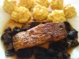 Štika na houbách a zázvoru recept