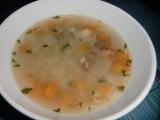 Uzená polévka s kroupami recept