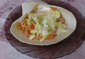 Výborné tortilly s rajčatovou salsou