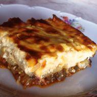 Řecká musaka podle Renči recept