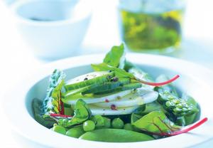 Křupavý jarní salát
