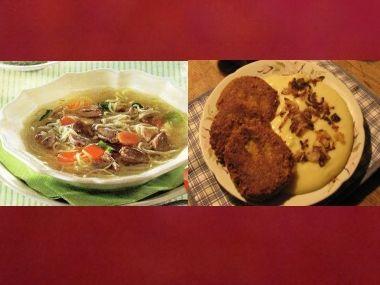 Oběd 76  Kaldoun a Králičí karbanátky