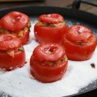 Plněná grilovaná rajčata recept