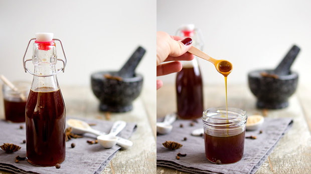 Perníčkovo-karamelový sirup