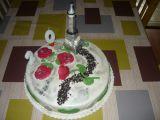 Dort Eiffelovka pro mou neteř k 20tým narozeninám recept ...