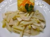 Kuřecí nudličky s kedlubnovým zelím recept