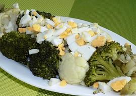 Květákovo – brokolicový salát recept