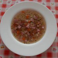 Uzená polévka a kroupami recept