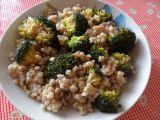 Kroupy s brokolicí  MAKROBIO recept