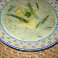 Fazolková polévka s koprem recept