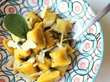Dýňovo-ricottové noky se šalvějovým máslem recept