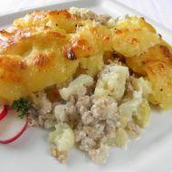 Zapečené vepřové s květákem a bramborem recept