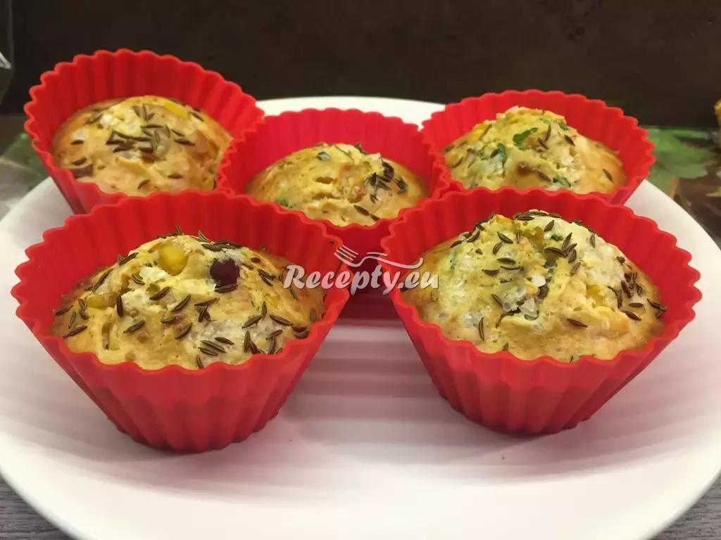 Zeleninové muffiny recept  pečivo