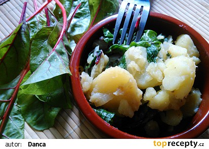 Chorvatská blitva (krumpir i blitva) recept