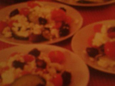 Řecký salát s fetou