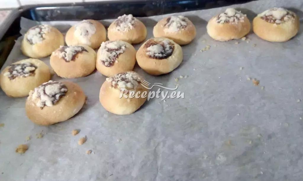 Slavnostní tvarohové koláčky recept  moučníky