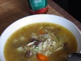 Kuřecí chilli polévka s rýží recept