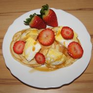 Sójové vanilkové lívance recept