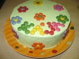 Lentilkový dort pro Karolínku recept