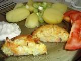 Květákové karbenátky s anglickou slaninou a sýrem recept ...