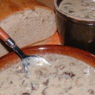 Levná houbová polévka recept