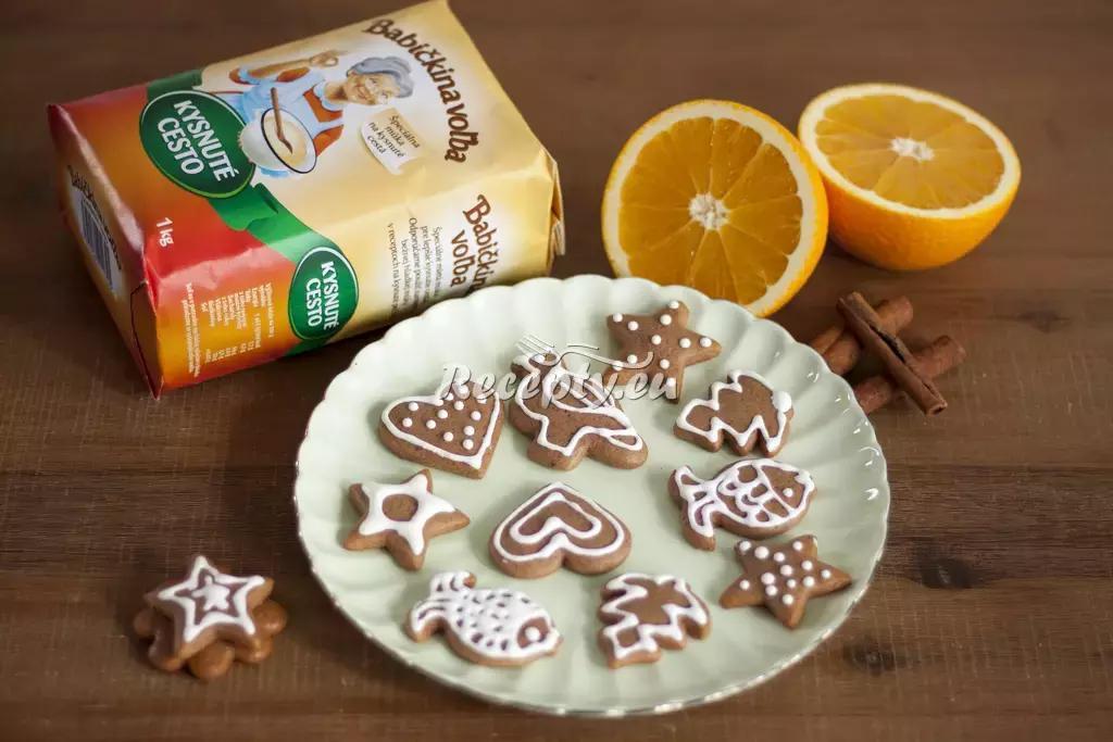 Jemné vánoční perníčky recept  nejen vánoční cukroví