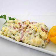 Bramborový salát s uzeninou recept
