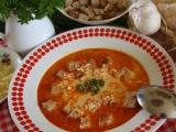 Budapešťská polévka recept