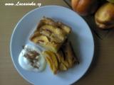 Nektarinkový koláč s vůní citrónu recept