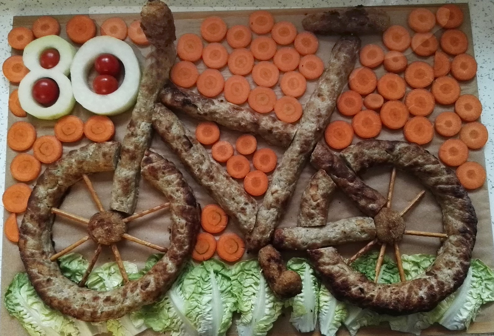 Slaný dort  kolo recept
