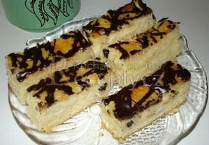 Litý koláč s tvarohem